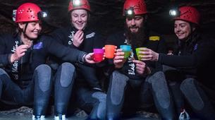 Rafting-Waitomo-'Black Labyrinth' Black Water Rafting in the Waitomo Caves-6