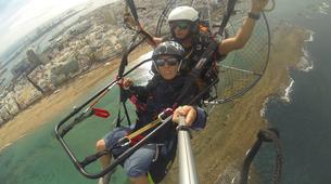 Paramotoring-Gran Canaria-Paramotoring in Las Canteras beach in Gran Canaria-7