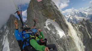 Parapente-Chamonix Mont-Blanc-Baptême de Parapente au Mont Blanc, Chamonix-1