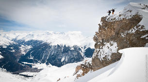 Backcountry Skiing-Val Thorens, Les Trois Vallées-Backcountry skiing in Val Thorens, Alps-3