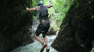 Canyoning-Arenal Volcano National Park-Gravity Falls Canyon in Arenal Volcano National Park-1