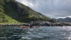 Kayak de mer-Tromsø-Summer Kayaking with Arctic Camp, near Tromsø-5