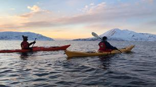 Kayak de mer-Tromsø-Winter Kayaking with Arctic Camp, near Tromsø-5