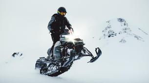 Snowmobiling-Gullfoss-Performance Snowmobile tour on Langjokull Glacier, Iceland-2