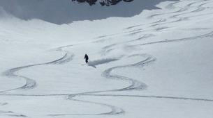 Ski Hors-piste-Flaine, Le Grand Massif-Skier à 100 km/h à Flaine, Grand Massif-4