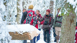 Raquette à Neige-Stockholm-Snowshoe hike in Stockholm-6