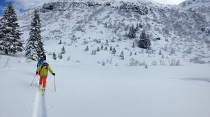 Ski touring-Flaine, Le Grand Massif-Ski touring day trip in Flaine, Grand Massif-5