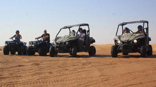 Quad biking-Dubai-Sunset Dune Buggy Excursion in the Red Desert-3