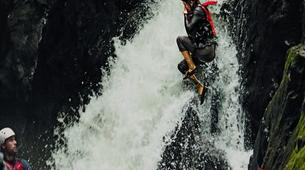 Canyoning-Arenal Volcano National Park-Gravity Falls Canyon in Arenal Volcano National Park-3