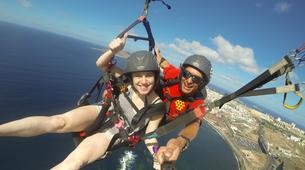 Paragliding-Gran Canaria-Tandem paragliding in Playa de las Canteras, Gran Canaria-14