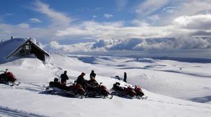 Snowmobiling-Vik i Myrdal-Snowmobile Tour up Mýrdalsjökull Glacier-1