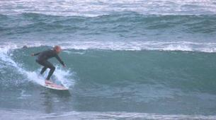 Surfing-County Clare-Surfing Lesson in Kilkee Bay-1