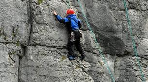 Klettern-County Clare-Rock Climbing Lesson in County Clare-1