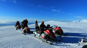 Snowmobiling-Vik i Myrdal-Snowmobile Tour up Mýrdalsjökull Glacier-6