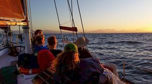 Sailing-Taupo-Cruise to Mine Bay on Lake Taupo-1