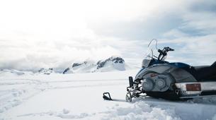 Snowmobiling-Gullfoss-Snowmobile Tour on Langjokull Glacier in Gullfoss-6