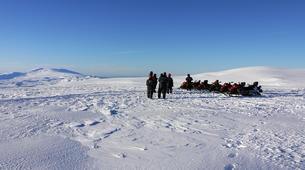 Snowmobiling-Vik i Myrdal-Snowmobile Tour up Mýrdalsjökull Glacier-5