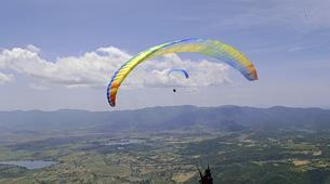 Parapente-Rome-Tandem Paragliding flight in Norma, near Rome-2