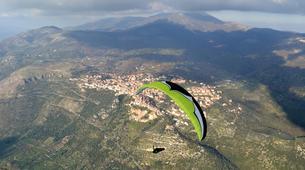 Parapente-Rome-Tandem Paragliding flight in Norma, near Rome-1