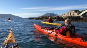 Kayak de mer-Tromsø-Summer Kayaking with Arctic Camp, near Tromsø-2
