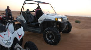 Quad biking-Dubai-Sunset Dune Buggy Excursion in the Red Desert-2
