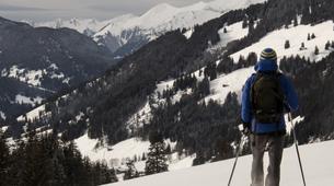 Snowshoeing-Vosges-Snowshoe hike in the Calvaire pass, Vosges-2