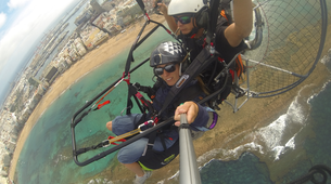 Paramotoring-Gran Canaria-Paramotoring in Las Canteras beach in Gran Canaria-6