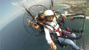 Paramotoring-Gran Canaria-Paramotoring in Las Canteras beach in Gran Canaria-1