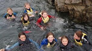 Coasteering-County Clare-Coasteering in Kilkee Bay-4