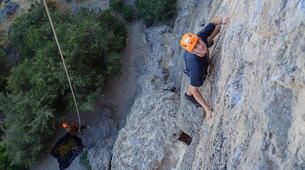 Rock climbing-Lisbon-Climbing and hiking in Arrabida Natural Park near Lisbon-5