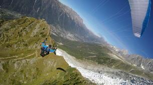 Parapente-Chamonix Mont-Blanc-Baptême de Parapente au Mont Blanc, Chamonix-6