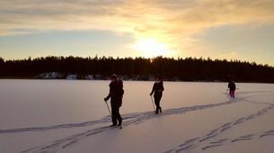 Raquette à Neige-Stockholm-Snowshoe hike in Stockholm-1