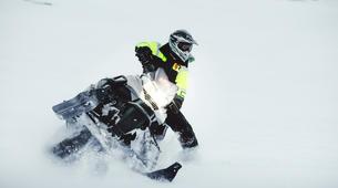 Snowmobiling-Gullfoss-Performance Snowmobile tour on Langjokull Glacier, Iceland-5