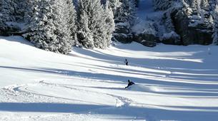 Ski Hors-piste-Flaine, Le Grand Massif-Skier à 100 km/h à Flaine, Grand Massif-3