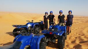 Quad biking-Dubai-Sunrise Dune Buggy Excursion in the Red Desert-6