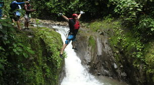 Canyoning-Arenal Volcano National Park-Gravity Falls Canyon in Arenal Volcano National Park-2