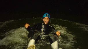 Rafting-Waitomo-'Black Labyrinth' Black Water Rafting in the Waitomo Caves-5