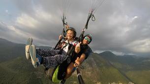 Parapente-Rome-Tandem Paragliding flight in Norma, near Rome-6