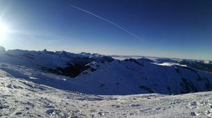 Ski Hors-piste-Flaine, Le Grand Massif-Skier à 100 km/h à Flaine, Grand Massif-1