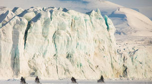 Snowmobiling-Svalbard-Pyramiden & Glacier Snowmobile Excursion in Svalbard-5