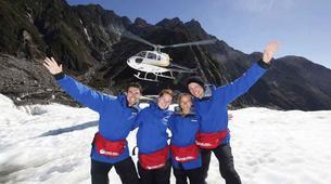 Helicopter tours-Franz Josef Glacier-Helicopter Tour & Ice Climbing on Franz Josef Glacier-2