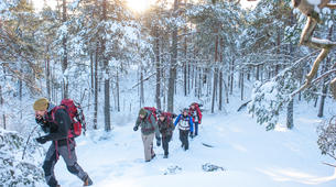 Raquette à Neige-Stockholm-Snowshoe hike in Stockholm-4