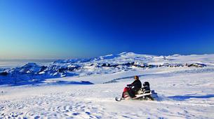 Snowmobiling-Vik i Myrdal-Snowmobile Tour up Mýrdalsjökull Glacier-4