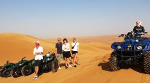 Quad biking-Dubai-Sunrise Dune Buggy Excursion in the Red Desert-4