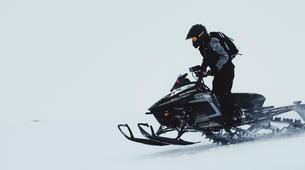 Snowmobiling-Gullfoss-Performance Snowmobile tour on Langjokull Glacier, Iceland-6