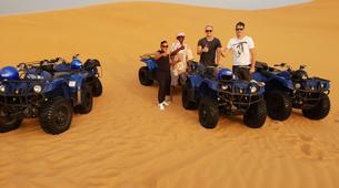Quad biking-Dubai-Sunrise Dune Buggy Excursion in the Red Desert-5
