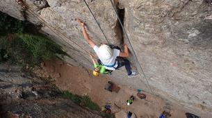 Rock climbing-Lisbon-Climbing and hiking in Arrabida Natural Park near Lisbon-6