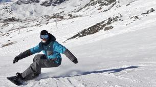 Backcountry Skiing-Val Thorens, Les Trois Vallées-Backcountry skiing in Val Thorens, Alps-6