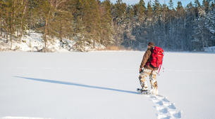 Raquette à Neige-Stockholm-Snowshoe hike in Stockholm-5