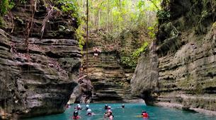 Canyoning-Cebu-Canyoning at Kawasan Falls in Cebu-4